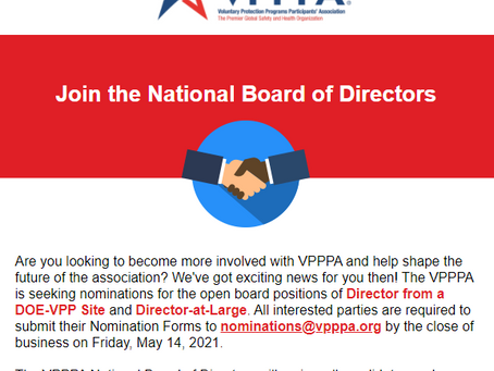 Join VPPPA's National Board of Directors