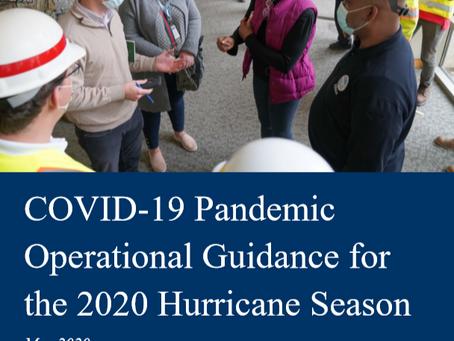 FEMA Announces Operational Guidance for the 2020 Hurricane Season