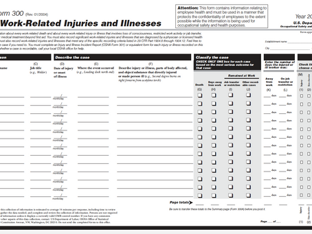 Employers Must Post 300A Injury/Illness Summary Until April 30th