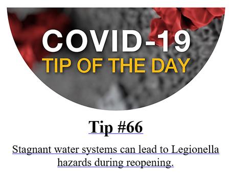 OSHA COVID-19 Tip of the Day #66