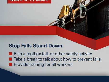 2021 National Safety Stand-Down Poster