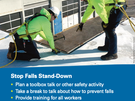 Upcoming Webinar: Fall Prevention & Protection in the Roofing Industry -- Thursday, April 16th