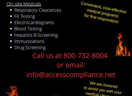 It's time to schedule your medical clearances!