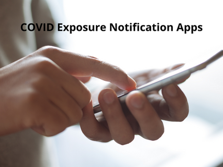 COVID Exposure Notification Apps