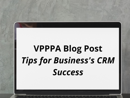 Tips for Business's CRM Success