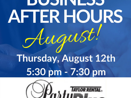 Save the Date! North Country Chamber's August Business After Hours