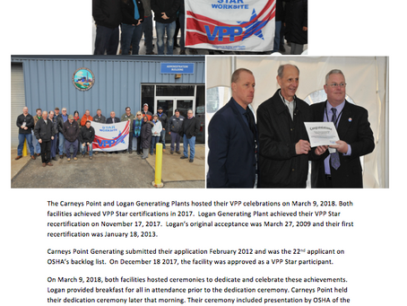 Carneys Point / Logan Generating Plants Star Ceremonies
