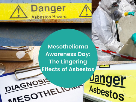 Saturday, September 26, is Mesothelioma Awareness Day