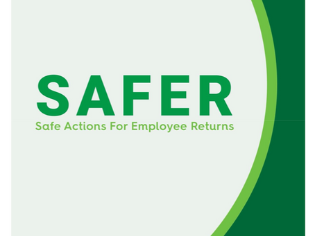 NSC Releases SAFER Framework Identifying Six Key Focus Areas for Employers During Reopening Efforts