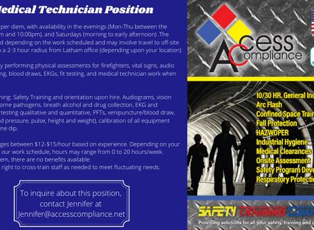 Medical Technician Position