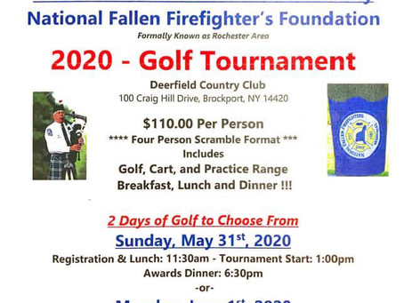 14th Annual Greater Monroe County National Fallen Firefighters Foundation Golf Tournament