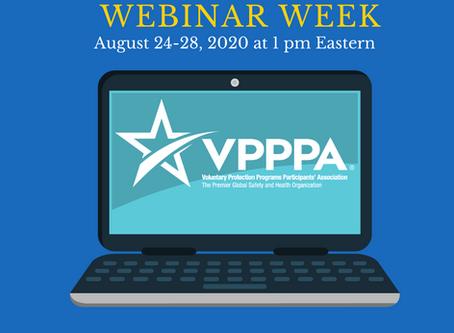 VPPPA Lunch & Learn Week!