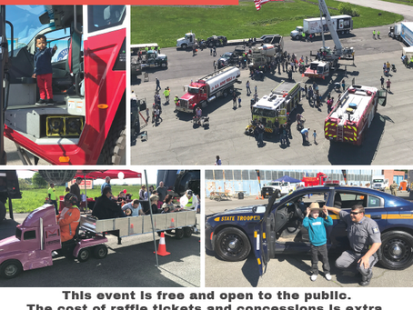 Eastern Region Touch-A-Truck - May 16th!