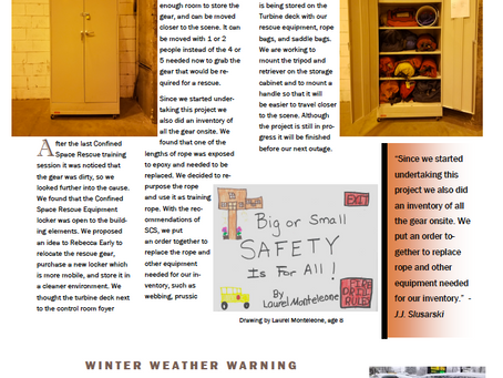 Enjoy some highlights from a recent safety newsletter Logan Generating Company, L.P. released.