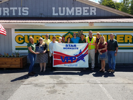 Here's some pictures from Curtis Lumber's Warrensburg VPP Star Recertification Ceremony!