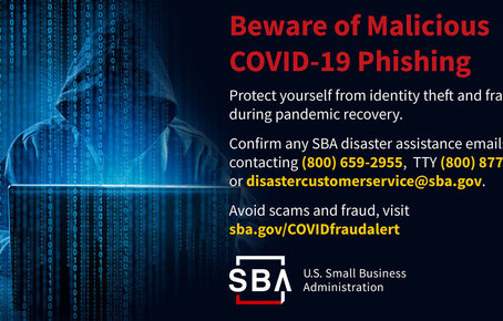 Beware of Malicious COVID-19 Phishing Scams