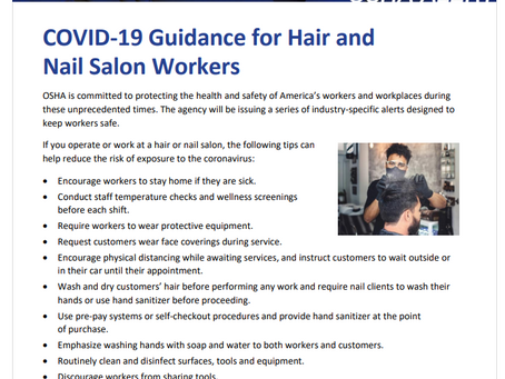OSHA's COVID-19 Tip of the Day!