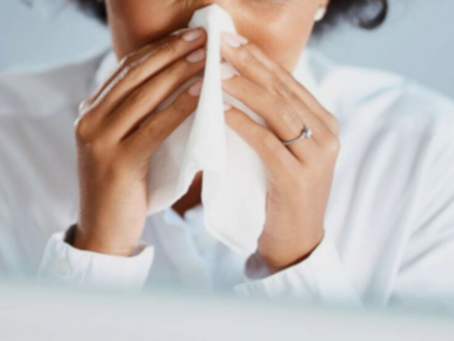 """OSHA's COVID-19 Tip of the Day: """"Promote flu shots to workers."""""""