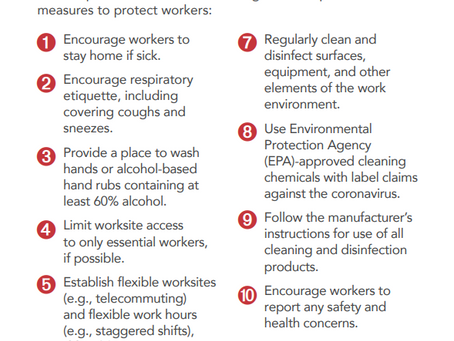 Did you know that OSHA has free COVID-19 print resources?
