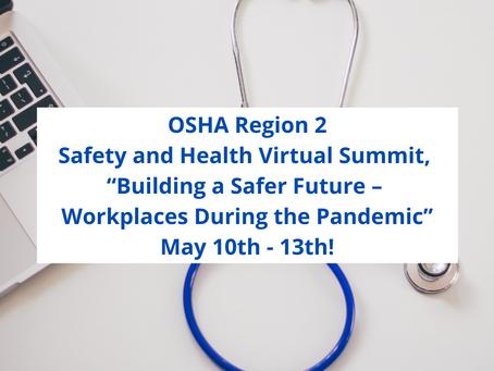 OSHA Region 2 Safety and Health Virtual Summit