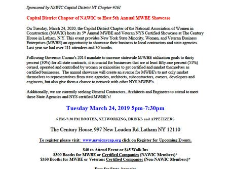 NAWIC MWBE Showcase - March 24th!