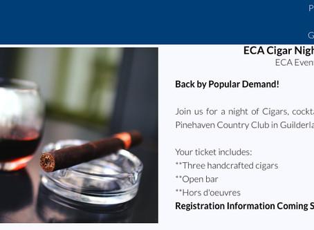 Save the Date! ECA Cigar Night - April 29th