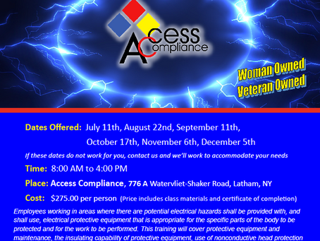 Were you unable to attend our Arc Flash Training last week?