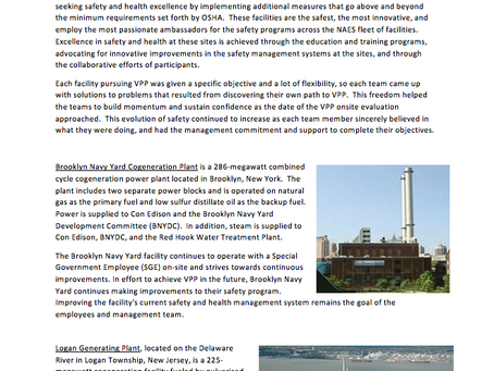 Check out this article on NAES! Special congratulations to Carneys Point Generating Plant for recent