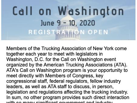 Register for Call on Washington, D.C.