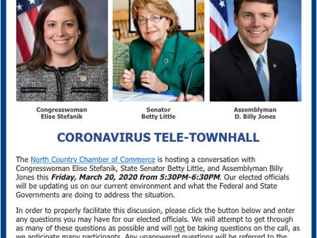 North Country Chamber Coronavirus Tele-Townhall