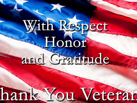 We want to honor all veterans and say thank you for your service and sacrifices for our freedom! Rem