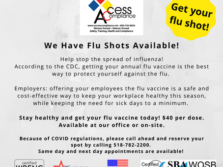 Help stop the spread of influenza!