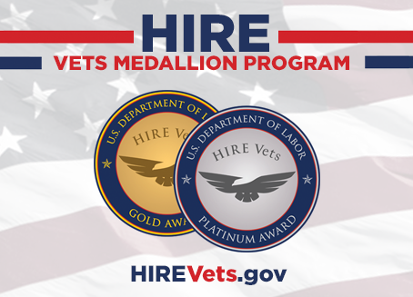 2021 HIRE Vets Medallion Award Accepting Applications