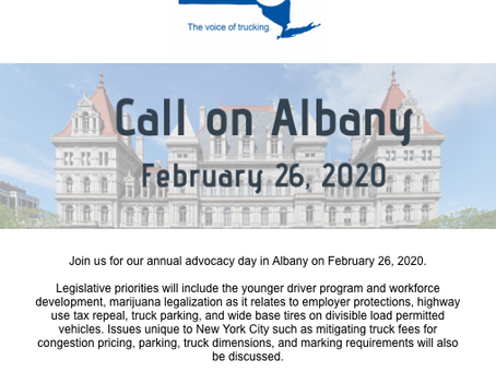 Register for Call on Albany