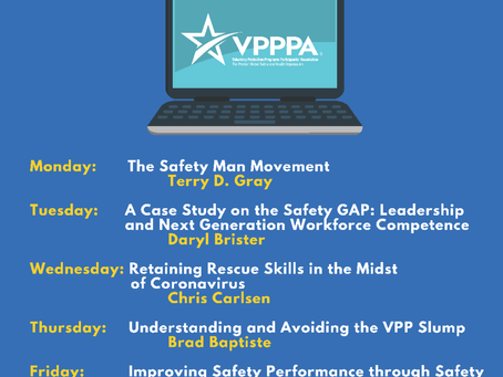 VPPPA's Lunch and Learn Week - August 24th - 28th!