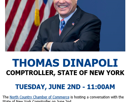 North Country Chamber of Commerce - Tele-Town Hall with NYS Comptroller