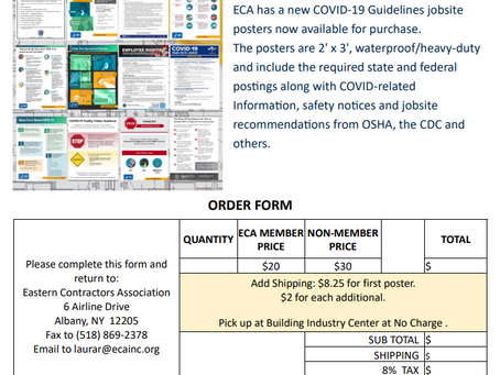 Are you in need of COVID-19 Jobsite Posters?