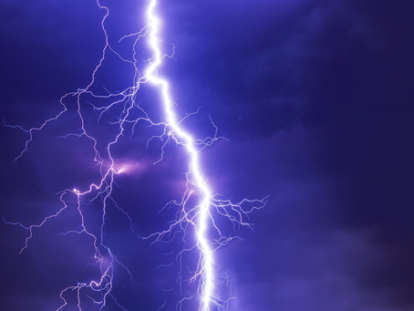 """OSHA's Tip of the Week - """"Have a plan to keep workers safe during severe weather events."""""""