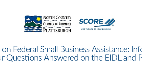 Small Business Administration Webinar: Information on Federal Assistance Programs