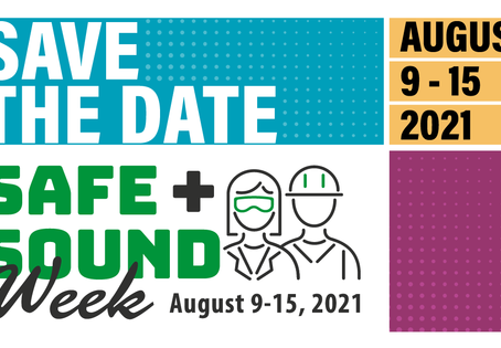 The Countdown for Safe + Sound Week 2021 Begins!