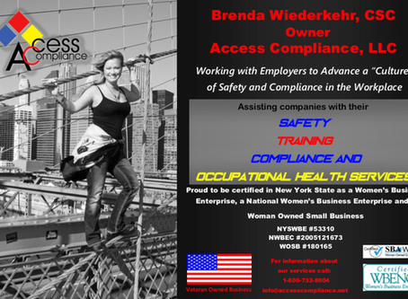 "Working with employers to advance a ""culture"" of safety and compliance in the workplace!"