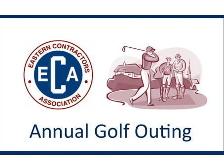ECA's 2021 Annual Golf Outing is coming up August 30th!