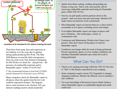 August 2020 CCPS Process Safety Beacon