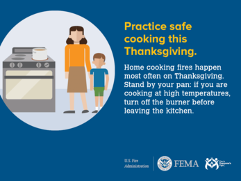 Cooking Fire Safety Materials