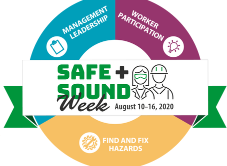 Save the Date! Safe + Sound Week is August 10th-16th!
