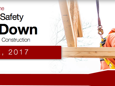 2017 National Safety Stand-Down to Prevent Falls in Construction