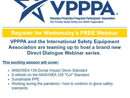 Register for Tomorrow's ISEA and VPPPA​ Free Direct Dialogue Series!
