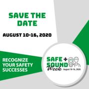 Register for Safe + Sound Week 2020!