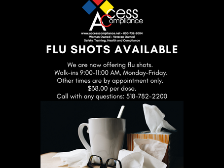 There's still time to get your flu shot!