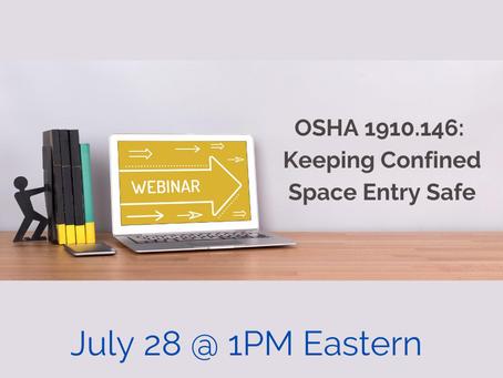 VPPPA's OSHA 1910.146: Keeping CSE Safe Webinar - Tomorrow!